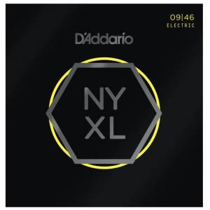 DAddario NYXL0946 Nickel Wound Super Light Top  Regular Bottom 09-46 Takım Tel Elektro Gitar Tel