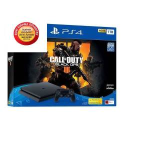 PS4 1TB Slim  Call Of Duty  Black Ops 4