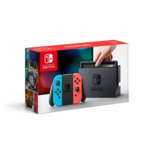 SIFIR Nintendo Switch Neon Blue and Red Joy-Con