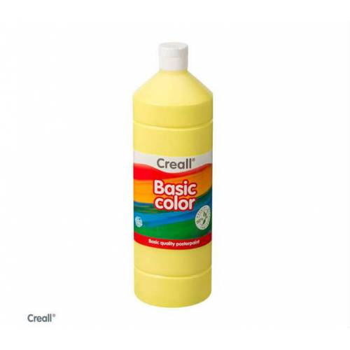 Creall Basic Color Posterpaint Tempera Boya 1000 ml. 01 L. Yellow Açık Sarı 392505445