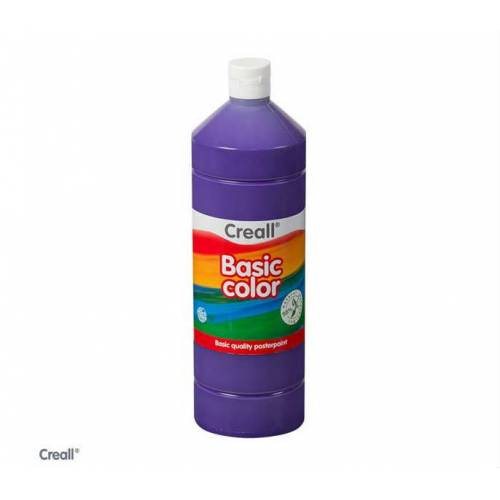 Creall Basic Color Posterpaint Tempera Boya 1000 ml. 09 Violet Mor 392505927