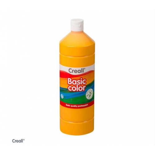 Creall Basic Color Posterpaint Tempera Boya 1000 ml. 03 D. Yellow Koyu Sarı 392506108