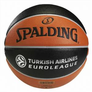 Spalding TF-500 Euroleague No 7 Kompozit Basketbol Topu