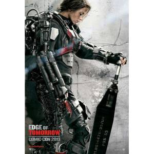 Edge of Tomorrow 2014 MİNİ AFİŞ-POSTER 21 cm x 297 cm 6F7E8D9C