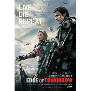 Edge of Tomorrow 2014 MİNİ AFİŞ-POSTER 21 cm x 297 cm 5J6I7H8G