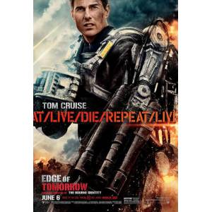 Edge of Tomorrow 2014 MİNİ AFİŞ-POSTER 21 cm x 297 cm 3S4R5P6O