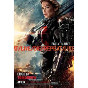 Edge of Tomorrow 2014 MİNİ AFİŞ-POSTER 21 cm x 297 cm 2B3V4U5T