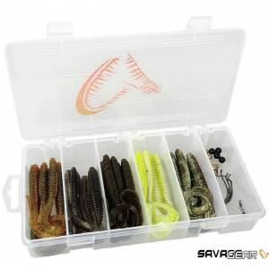 Savage Gear Rib Worm Kit 3017 Adet Suni Yem