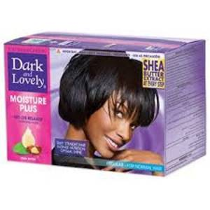 Dark And Lovely Moisture Plus Regular 3 Ay Kalıcı Saç Düzleştirici Set