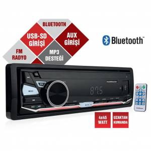 GOLDMASTER V700 BT BLUETOOTH  RADYO OTO TEYP