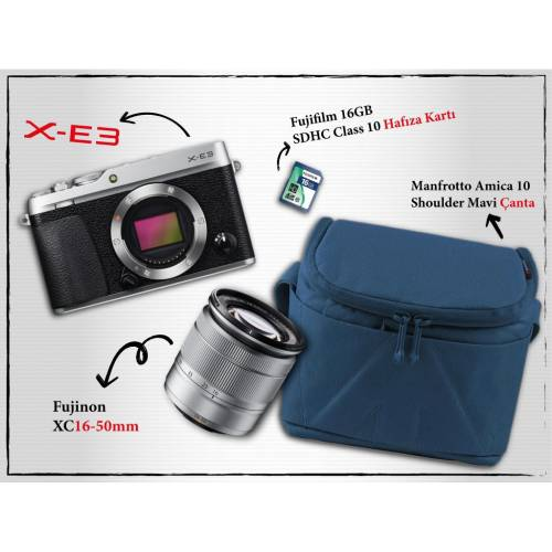 Fujifilm X-E3XC16-50mm Kit 393919600