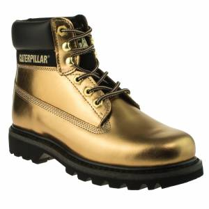 Caterpillar Colorado Bronz Deri Unisex Bot