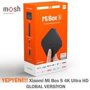 YEPYENİ Xiaomi Mi Box S 4K Ultra HD - GLOBAL VERSİYON