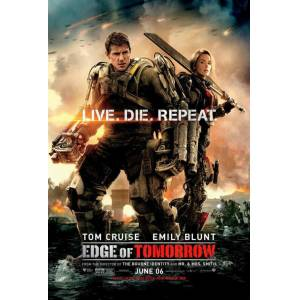 Edge of Tomorrow 2014 MİNİ AFİŞ-POSTER 21 cm x 297 cm 4N5M6L7K