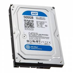 WD Blue 500GB 7200RPM 32MB SATA3 3.5inc Desktop WD5000AZLX