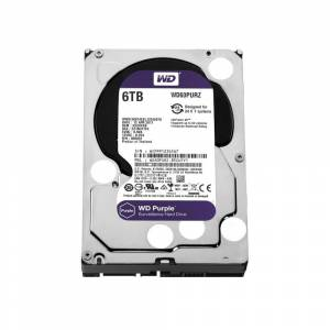 WD Purple 3.5 6TB Intellipower 64MB Sata3 WD60PURZ 724 Güvenlik Kamerası Diski