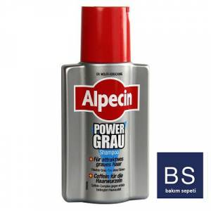 Alpecin Power Gri Şampuan 200ml Made in Germany