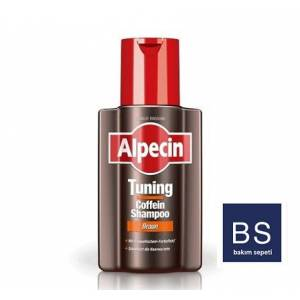 Alpecin Tuning Kahverengi Kafein Şampuanı 200ml Made in Germany
