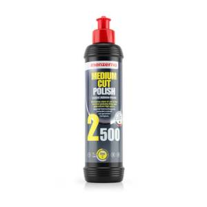 Menzerna 2500 Power Finish Orta ve İnce Çizik Giderici Pasta 250 ml