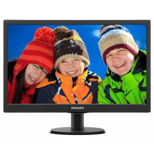 PHILIPS 19.5 203V5LSB2662 5MS PARLAK SIYAH VGA HD LED MONITOR