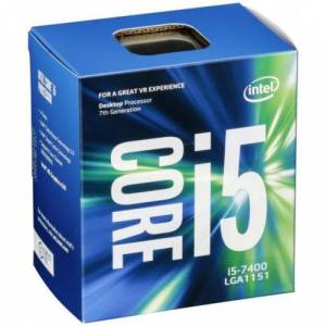 Intel Core i5-7400 1151p box BX80677I57400SR32W