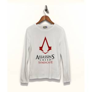 Assassins Creed Syndicate Tişört Uzun Kollu Tshirt
