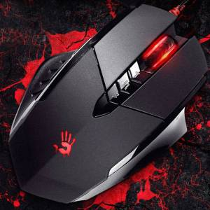Bloody V7M HD Optik Multi Core Metal Ayak 3200CPI Oyuncu Mouse