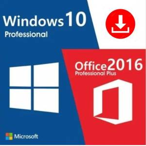 Windows 10 Pro. - FQC-09131 amp Office 2016 Pro Plus İkisi Bir arada