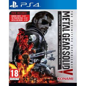 PS4 Metal Gear Solid 5 V The Definitive Experience PS4 OYUNU