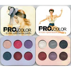 Makyaj Cos. Pro Color 6x Eyeshadow Palette