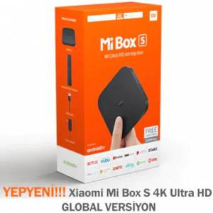 YENİ Xiaomi Mi Box S GLOBAL VERSİYON 4K
