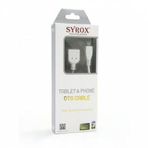SYROX SYX-C09 BEYAZ OTG CABLE . TABLETPHONE