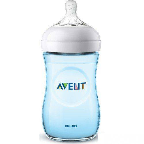 Philips Avent Natural PP Biberon 260 ml 1ay+ Mavi SCF035/17