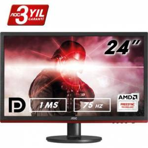 AOC G2460VQ6 24 inc 75 Hz 1ms HDMI FreeSync Full HD OYUNCU MONİTÖRÜ