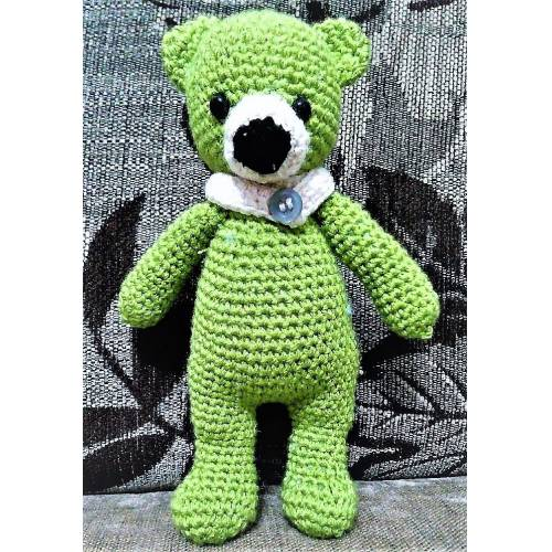 AMİGURUMİ OYUNCAK ÖRGÜ AYI YAPIMI - How to knit teddy bear doll ... | 500x500