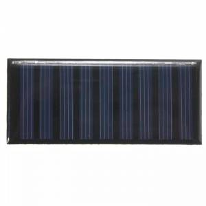 Mini güneş -solar panel 5V 05 W 100 mAh 86x38x2mm