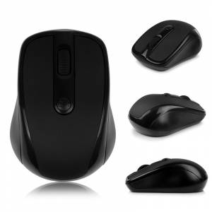Kablosuz Mouse Wifi Wireless FareTablet Notebook USB PC Laptop Bilgisayar SİYAH
