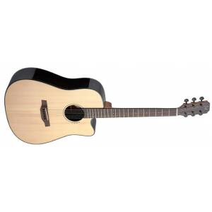 Stagg LYN-DCFI James Neligan Elektro Akustik Gitar