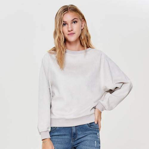 Only Sweat Batwing O Neck 15162053-CRE Ivory Cream 398150386