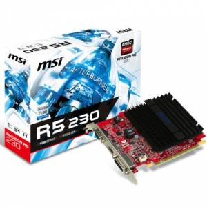 MSI R5 230 1GD3H LP 1GB 64Bit DDR3 DVI HDMI VGA
