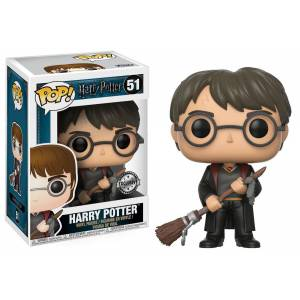 Funko Pop Harry Potter With Firebolt Exclusive Figür