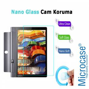 Microcase Lenovo Yoga Tab 3 Plus X90 X90F Tablet Nano Glass Cam Ekran Koruma