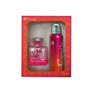 CECILE LOVELY EDT 100MLDEODORANT 150ML SET