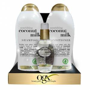 Ogx Coconut Milk Shampoo Set