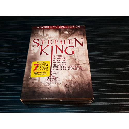 Stephen King DVD Set 7 Klasik Film The Stand-The Langoliers-Golden Years-The Dead Zone-Pet Sematary 400792121