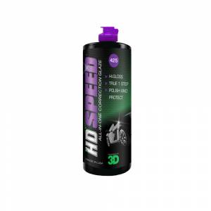 3D Hd Speed All in One Polish WAX  Çizik Giderici Hare Giderici Cila 473 ml. 425OZ16