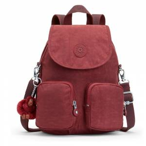 Kipling Firefly Up Basic Sırt Çantası Burnt Carm K12887-47F