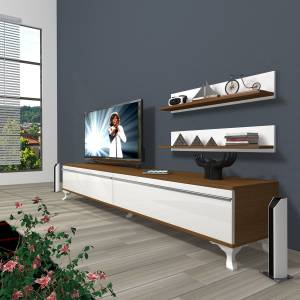 DECORAKTİV EKO 4 MDF STD RUSTİK TV ÜNİTESİ 2 RAF 8682109200677