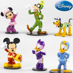 Orjinal Disney Mickey Mouse Minnie Mouse Daisy Donald Goffy Pluto