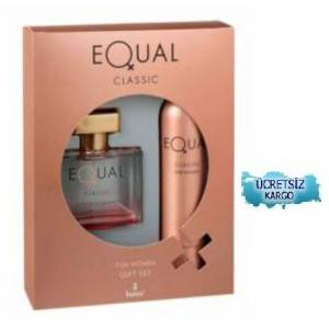EQUAL CLASSIC WOMEN 75ML EDT150ML DEO